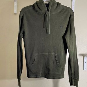 Polo Ralph Lauren Thermal Hoodie Green Size Small